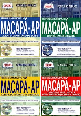 Apostila concurso Prefeitura de Macapá 2018 - Clique abaixo:
