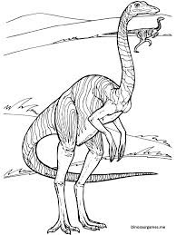 Cute Gallimimus Coloring Pages