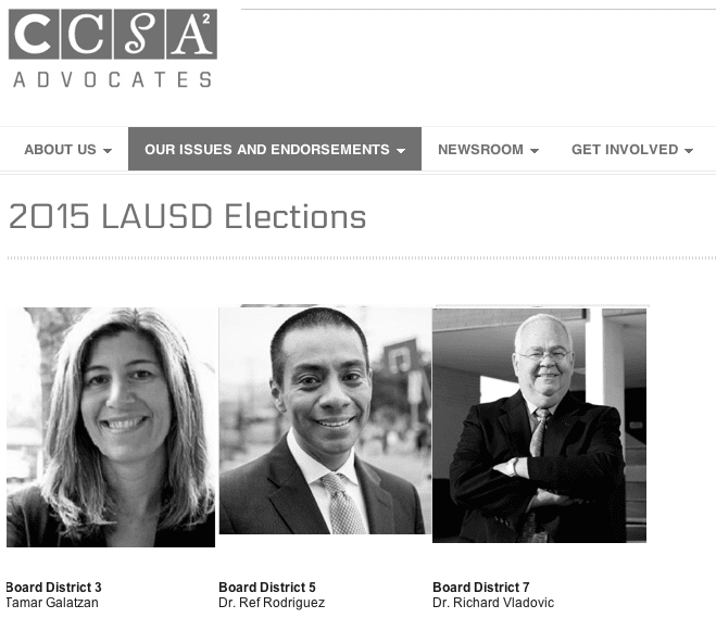 Eli Broad funded United Way of Greater Los Angeles now also serving CCSA's political arm