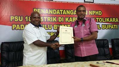 Pemkab Tolikara dan KPU Provinsi Papua Siap Laksanakan PSU di 18 Distrik