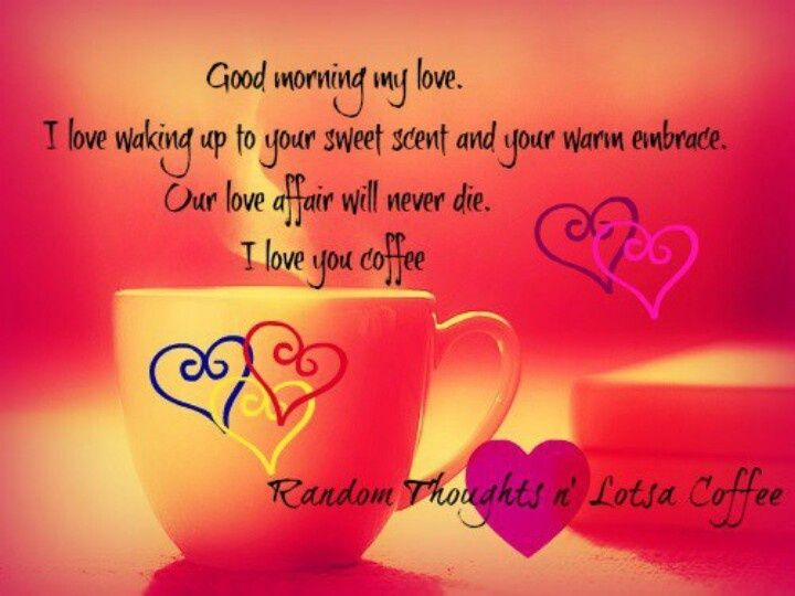 Good Morning My Love Quotes For Him Inspiration Sweet Good Morning Beautiful I Love You Quotes For Wife  Romantic