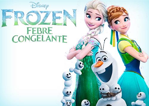 Frozen: Febre Congelante Torrent - DVDRip