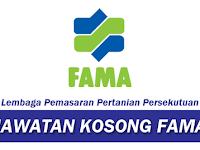 Jawatan Kosong Terkini FAMA