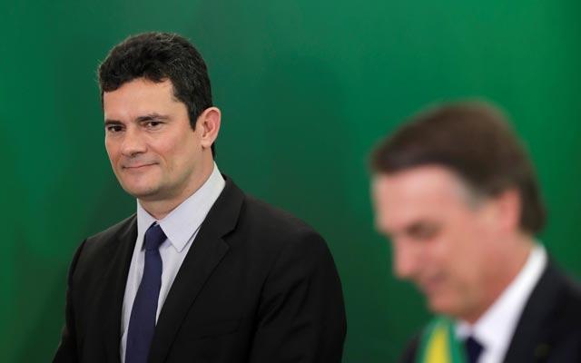 Bolsonaro pretende indicar Sergio Moro para vaga no STF