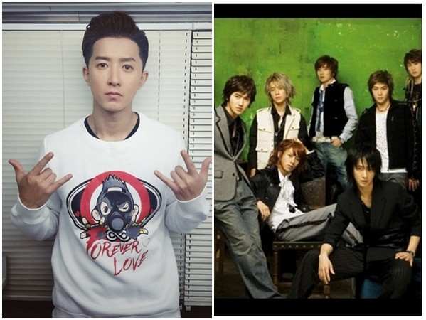 Super Junior 韓庚,Super Junior 韓庚