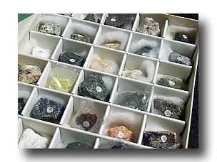 S57年購入の岩石鉱物標本