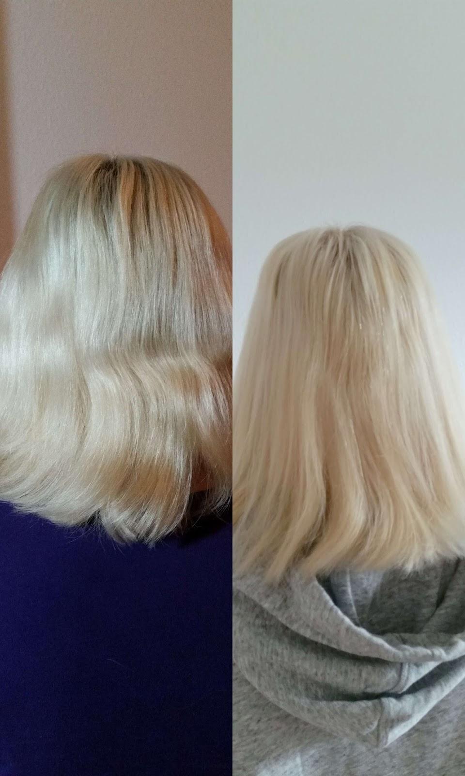 Haare Zuhause Blondieren Kühles Aschblond Mit Poly Palette