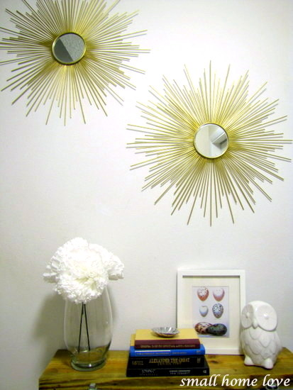 HandMadera: How to make a sunburst mirror (DIY by Jacky)