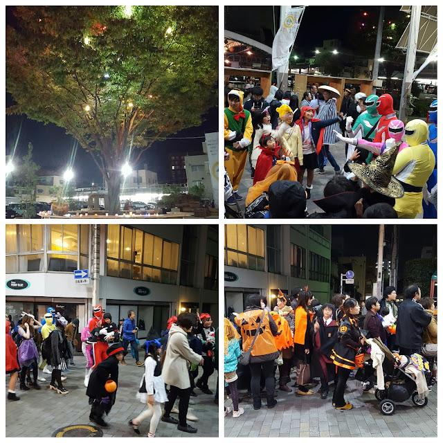 Suasana Halloween di Maebashi