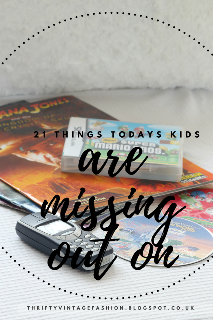 21 Things 'Today's Kids' Are Missing Out On Pintrest Buzzfeed lifestyle blogger