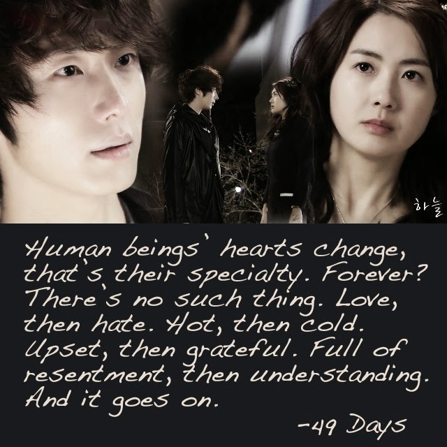 Quotes 49 days korean drama / Cid 18 april 2014 watch online