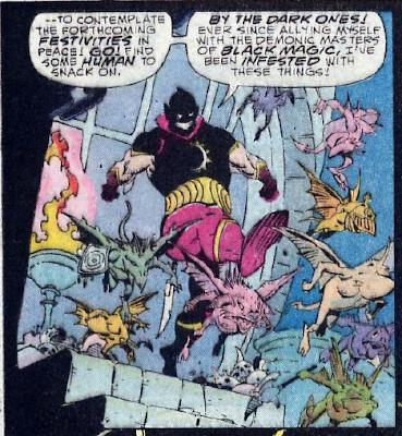Panel from Phantom Stranger v3 #3 (1987). Property of DC comics.