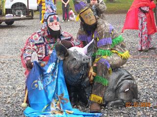 Courir de Mardi Gras & Croquembouche