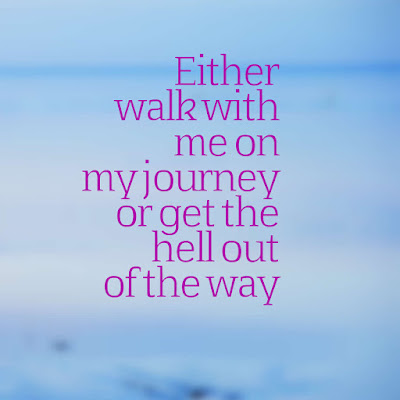 Many Motivational Quotes. Daily Thought: The Journey