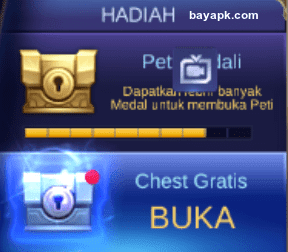 Chest Medal dan Free Chest