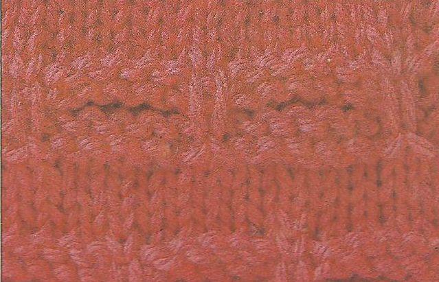 Patrón #1880: Como tejer canales anudados a dos agujas.