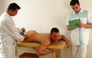 Gay doctor getting touched during exam porn 4