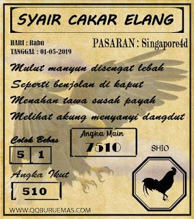 Syair SINGAPORE,01-05-2019