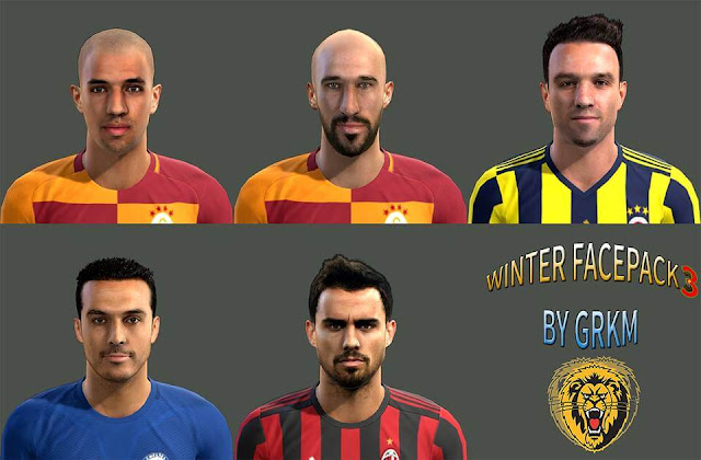 PES 2013 Winter Facepack 2018