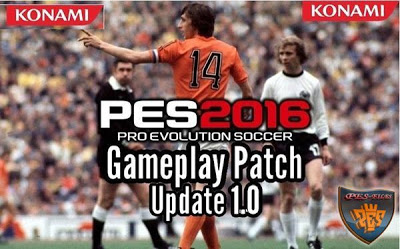 PES 2016 Hardcore Gameplay Patch V1.0
