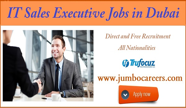 Sales executive jobs in Dubai, Available Company jobs in Dubai,