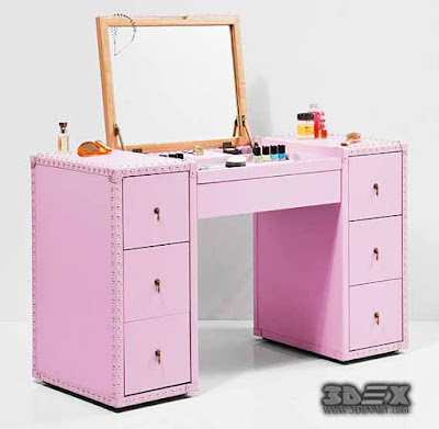 Girls dressing table design ideas for kids bedroom interior 2019