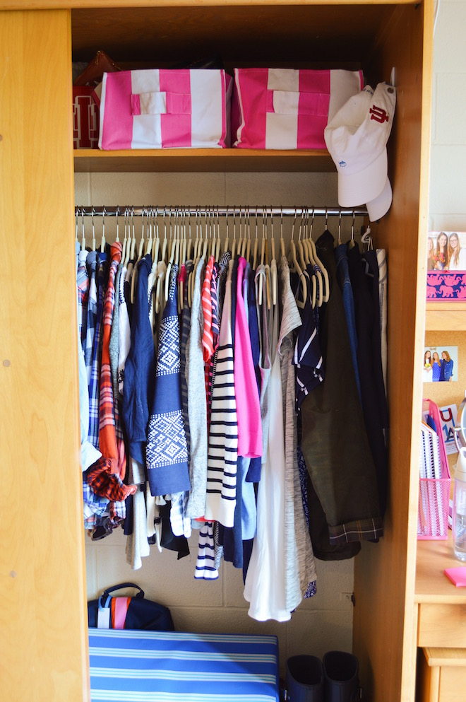 Surprisingly, My Closet Was One Of The First Things That Really Came  Together Well In Our Room. It Was The Part I Was Stressing About The Most  Because I ...