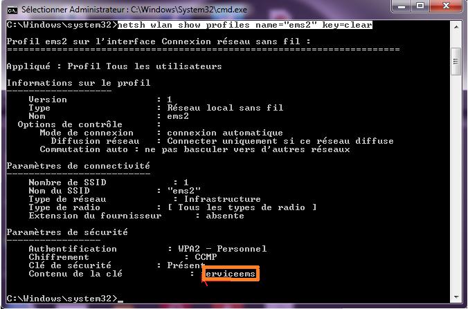 Pirater mot de passe wifi mac