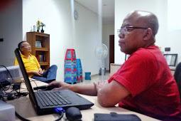 Persiapan Panitia Paskah 2018 di Paroki Harapan Indah.