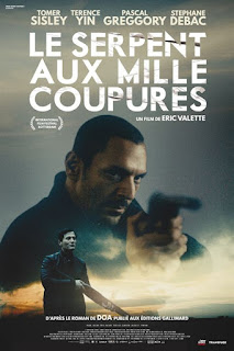 LE SERPENT AUX MILLE COUPURES, Tomer Sisley, Eric Valette, thriller, jaquette, poster, affiche