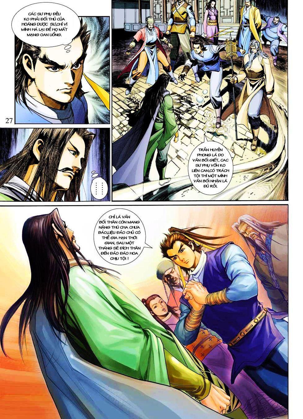Anh Hùng Xạ Điêu anh hùng xạ đêu chap 33 trang 27