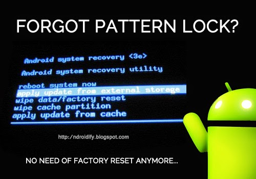 Ndroidify: How To Remove Pattern Lock From Your Android