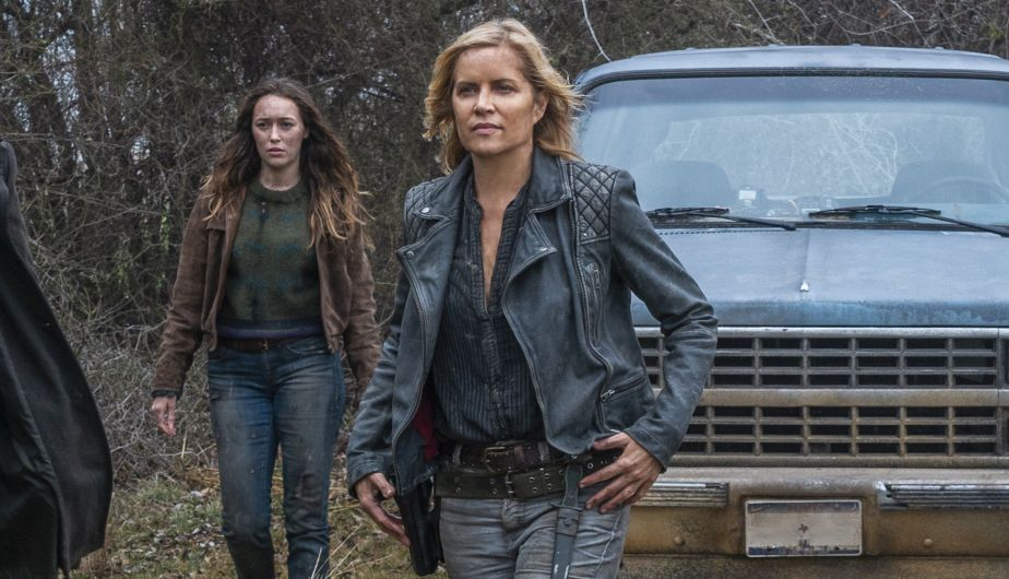 Madison y Alicia en el episodio 4x08 de Fear The Walking Dead