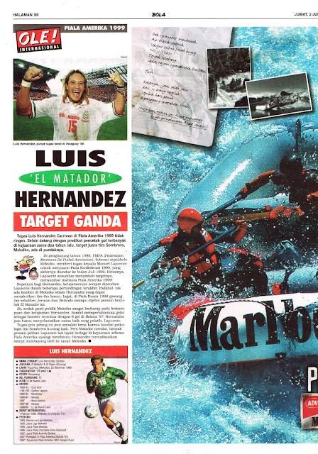 COPA AMERICA LUIS 'EL MATADOR' HERNANDEZ