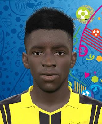 PES 2016 Ousmana Dembele (Dortmund) Face by GFB1907