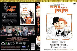 Carátula: Vivir con papa (1938) (Life with father)