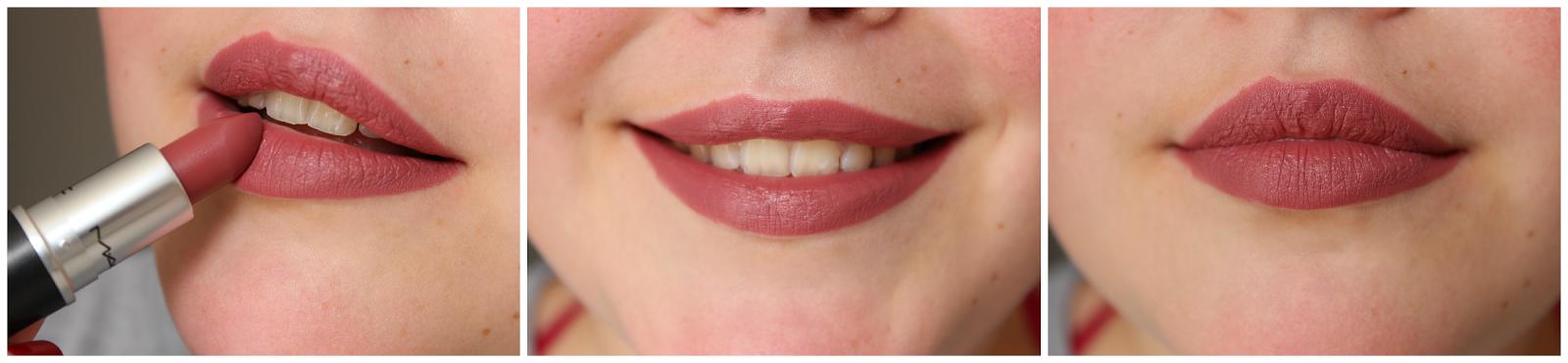 Super ♡ Haul MAC Lipstick - L'obsession du mat (swatch + dupe) KB-59