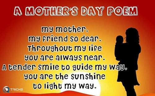 happy mothers day sms message
