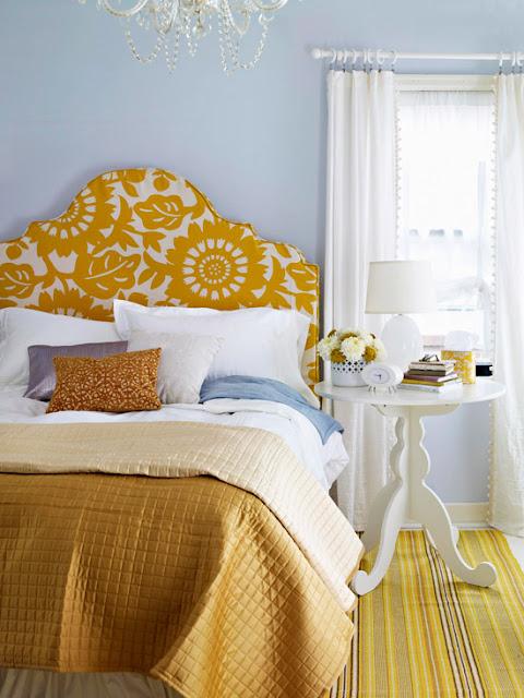 sarı-oda-dekorasyon
