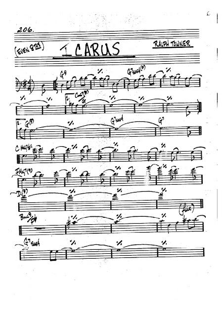Partitura Trombón Ralph Towner