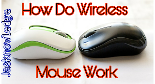 Wireless mouse kaise work karta hai