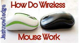 Wireless mouse kaise work karta hai