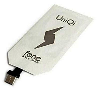 ricevitore di ricarica Wireless Qi per telefoni con Porta USB Type-C