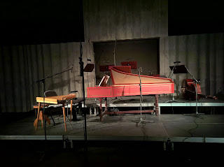 Harpsichord and Kannel at Kultuurikatel, Tallinn