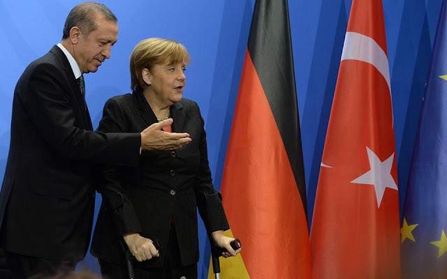 Μεγάλες προσδοκίες ενόψει της συνάντησης Μέρκελ-Ερντογάν