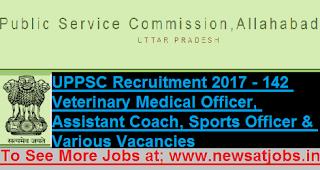 uppsc-142-veterinary-officer-recruitment