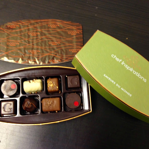 Godiva Chocolates from around the Globe