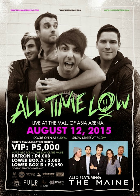 All Time Low Concert here in MANILA