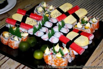 Maki+%252B+Sushi+Platter - Maki and Inihaw Night With Good Friends