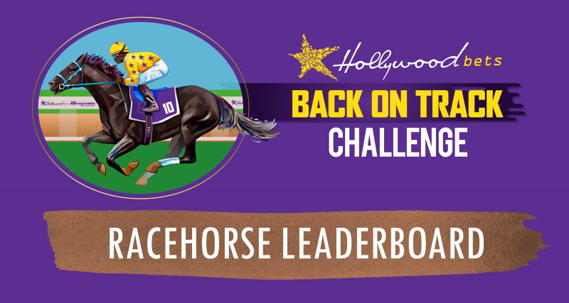 Racehorse Leaderboard - Back On Track Challenge